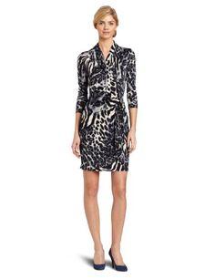 Karen Kane Women's Long Sleeve Wrap Dress « Clothing Impulse