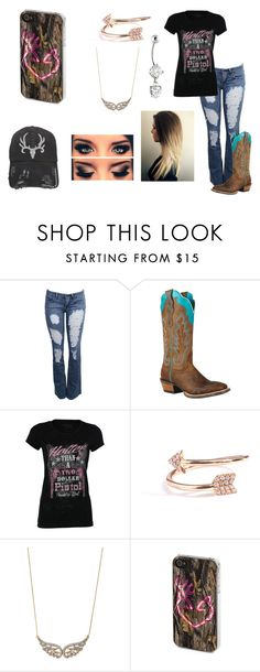 """""""Untitled #685"""" by taylor-loomis ❤ liked on Polyvore featuring Ariat, Diane Kordas, Stella & Dot and Samsung"""