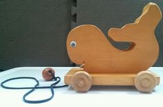 Wood #PullToy Wee Willies Willy's Workshop #KillerWhale #Child #Toddler #ToyCollector #Willys #wooden #workshop