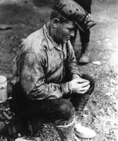 Coal Miner -- my dads father was an immigrant from Germany, who married a widow with 3 children and fathered 7 more... he worked as a coal miner for 10 hours a day and then came home and kept their small farm going, providing food for his family...