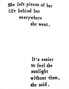 to be light / summer quote