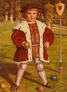 The King of Hearts, William Holman Hunt, 1862