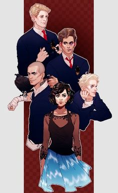 The fivesome, Raven Cycle.