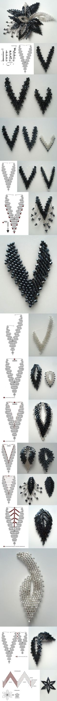 DIY Cool Bead Flower Pendant | www.FabArtDIY.com LIKE Us on Facebook == https://www.facebook.com/FabArtDIY