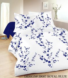 Printed Duvet sets are an easy way to change the whole theme of your bedroom and come at a more affordable price. Printed bed duvet covers comes with matching pillow case in a wide assortment of colours and a style to fit every person's tastes. Transform your bedroom into something spectacular! From £18.99 via www.lancashiretextiles.co.uk #home #fresh #bedding #floral #clean #interiors