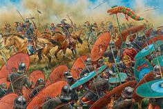 Huns Attack Roman Auxilleries
