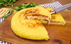 INGREDIENTS 600g of potatoes salt pepper parsley 1 egg 160g flour 40g Parmesan cheese  salami scamorza cheese olive oil  DIRECTIONS Boil the potatoes. Add salt, pepper, Parmesan cheese, the egg, parsley, and mix everything together well. Finally, mix in the flour to obtain a compact dough. Pour some oil in a non-stick pan and place half of the dough onto it, place the salami and scamorza cheese (or anything you prefer) on top and cover with the other half of the dough. Let it cook over low…