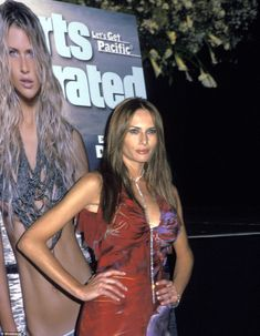 Success on her own: Melania went on to pose for the Sports Illustrated Swimsuit Edition in...