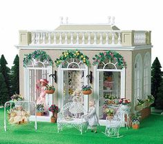 Dolls House Orangery by Ian Dewar