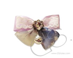 Ribbon Series Adjustable Dog Bow Tie Collar - Lace         http://www.dsstyles.com/product/ribbon-series-adjustable-dog-bow-tie-collar---lace