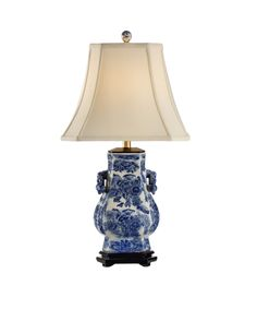 Frederick Cooper 65149 Blue Tang 28 Inch Table Lamp
