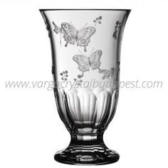 Springtime Clear Footed Vase 10' 298€