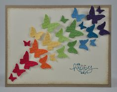 Snippets By Design: Inspired By... a Rainbow of Butterflies!