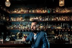 Hidden down laneways, underground and behind unmarked doors are Melbourne's hard-to-find bars. We chat with Eau de Vie to see what the fuss is about. Marble Staircase, Drink List, Roller Doors, Japanese Sake, State Of Grace, West Berlin, Fall From Grace, Cocktail Menu, Way Down