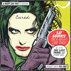 Post-Punk and New Wave Rock Stars Reimagined as DC Comics Supervillains