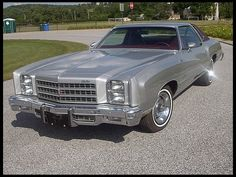 1976 Chevrolet Monte Carlo ...Ernie's car when we married was just like this one.