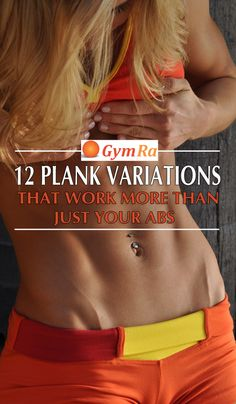 The Ultimate Plank Workout. Shape your abs, sculpt your booty, and strengthen your upper body. Do this workout a few times a week to build your core – the foundation for an awesome body! Click the above image to see the entire workout in GIF & video format.