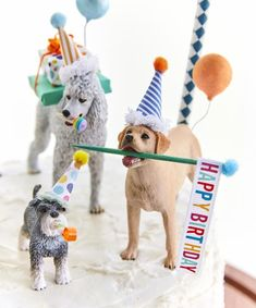 Your place to buy and sell all things handmade Dog birthday party//dog cake toppers/Dog party/Labrador cake Party Animals, Animal Party, Animal Birthday, Dog Birthday, Happy Birthday, Dog Cake Topper, Cake Toppers, Cute Birthday Cakes, Birthday Parties
