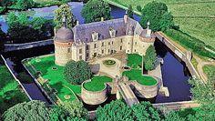 Chateau renaissance - creuse - France