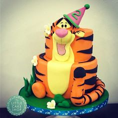 Tigger Tier Cake by Dominique Ballard