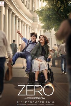 Zero is a movie starring Shah Rukh Khan, Anushka Sharma, and Katrina Kaif. The story revolves around Bauua Singh (Shah Rukh Khan), a vertically. New Movies 2018, New Movies To Watch, Latest Movies, Movies Online, Hindi Movies, Srk Movies, Good Movies, Comedy Movies, Film Vf