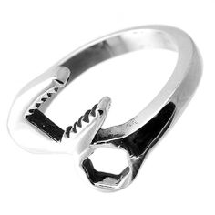 Stainless Steel Ring with Wrench Tool Design  Stylejewelry http://www.amazon.com/dp/B008SDBVIQ/ref=cm_sw_r_pi_dp_GAiRtb199N372Q3D