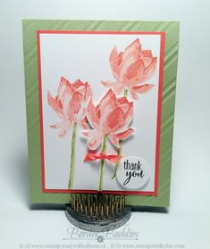 Learn more about this exclusive free item, Lotus Blossom Stamp Set.