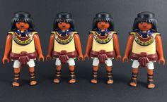 playmobil X4 ship figures custom warrior medieval klicks new egyptian lot Rare #PLAYMOBIL