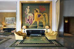 Le Ritz de Lisbonne décoré par Henri Samuel © Richard Waite