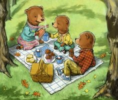 Teddy Bear Picnic Preschool Ideas | Songs That Have Been Made Into Books (Can Be Sung Or Read)