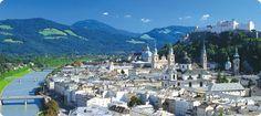 Salzburg, Austria. Beautiful city.