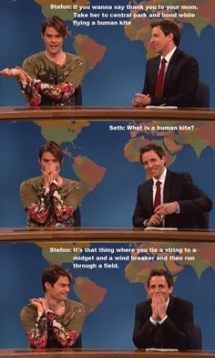 This is my favorite weekend update sketch ever on SNL