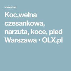 Koc,wełna czesankowa, narzuta, koce, pled Warszawa  • OLX.pl