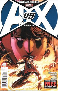 Avengers Vs X-men ___(W))Ed Brubaker. (A) Adam Kubert, John Dell., Cover by Jim Cheung , This Issue Is Near Mint Condition , The Story ..Time is running out as the Avengers are cornered in their last