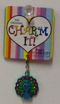 Peacock Charm: $4.99.  For more information or to check availability, call or email Polka Dots. 916-791-9070. polkadotsproshop@gmail.com