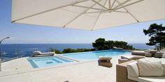 Nybyggd ultramodern lyxvilla på Ibiza   Balearerna