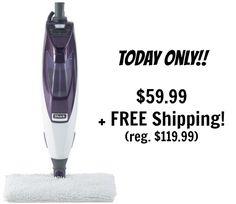 Today Only! Shark Blast & Scrub Steam Pocket Mop Only $59.99 Shipped! (reg. $119.99)