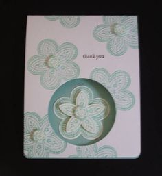 Triple Treat Flower by CAutrey - Cards and Paper Crafts at Splitcoaststampers