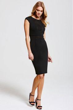 3ef77dec9f1b Paper Dolls Black Contrast Stripe Dress Stripe Dress