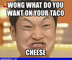 New Meme in http://mememaker.us: Chinese cheese