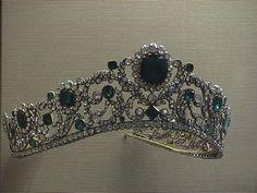 France Crown Jewels- I always wondered why the Ronaldo bracelet Eclipse was onyx...and now I do know!