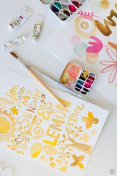 Make your own DIY mini paint palette – Think.Make.Share.