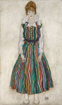 The conventional opinion about Egon Schiele's 1915 portrait of his wife Edith is that it betrays his romantic disappointment. But is there more to it?