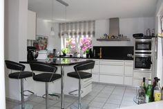 Endlich Bilder unserer neuen Küche! - Fertiggestellte Küchen - Alma Lack Hochglanz weiß