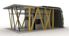 Solar Cube Refuges : Temporary Housing Unit