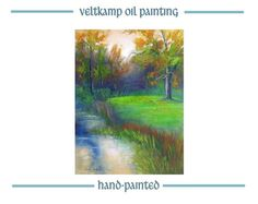 no shipping costs  landscape oil paintingof by VeltkampOilPainting