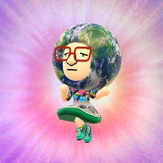 In Miitomo puoi avere un avatar proprio come quello che appare in questa foto, divertirti a vestirlo come vuoi e altro ancora!