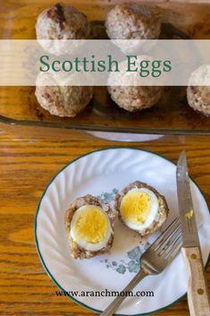 Easy Scottish Egg Recipe paleo, low-carb, gluten-free, dairy-free, whole food Egg Recipes, Whole Food Recipes, Healthy Recipes, Healthy Food, Recipies, Dinner Recipes, Scotch Eggs Recipe, Over Easy Eggs, Scottish Recipes