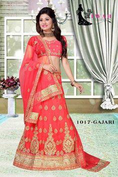 824478cb412 Gajari Wedding Lehenga Choli  textilemalllove  silksarees  sareelove   traditionalyard  magenta  goldzariwoven