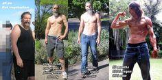 Joseph Hill - 10 months raw vegan transformation